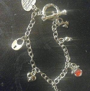 Jewelry - ed hardy authentic charm bracelet